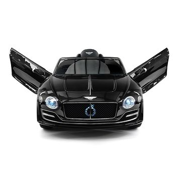 Bentley EXP 12V Kids Electric Ride-On Car with R/C Parental Remote | Black