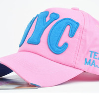 Retro Embroidery NYC Baseball Cap
