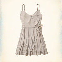 Girls Shine Wrap Dress | Girls Dresses & Rompers | HollisterCo.com