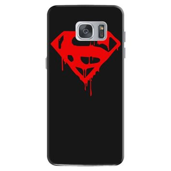 dripping blood superman Samsung Galaxy S7