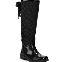COACH TRISTEE RAINBOOT at www.bostonstore.com