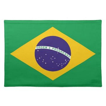 Brazilian Flag MoJo Placemat