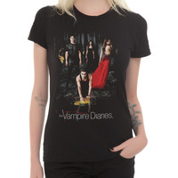 The Vampire Diaries Forest Girls T-Shirt