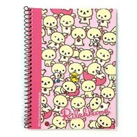 San-x Rilakkuma A5 Spiral Eco Friendly Notebook Note Pad : Pink Korilakkuma $1.99