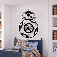 Star Wars Wall Decal BB-8 Android Vinyl Sticker Decals Nursery Baby Room Home Decor Bedroom Art Design Interior NS1007