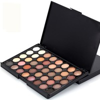 Professional Fashion Makeup Waterproof Smoky Matte Eye Shadow Sets 40 Color Eyeshadow Glitter Luxury Makeup Palette