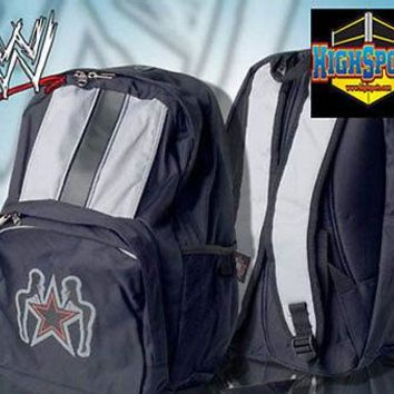 WWE Edge Back Pack, Wrestling Rated R Superstar Backpack Kids Adult Book Bag