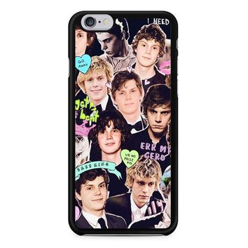 Evan Peters Collage 1 iPhone 6/6S Case