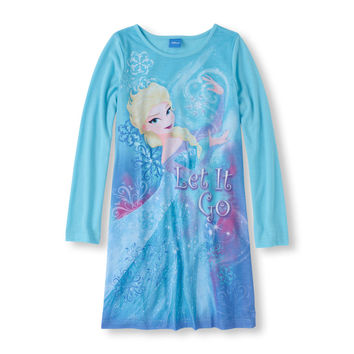 Long Sleeve Frozen 'Let It Go' Nightgown | US Store