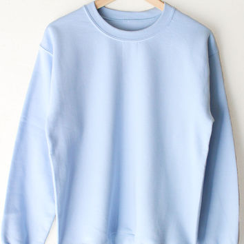 Oversized Sweater - Blue