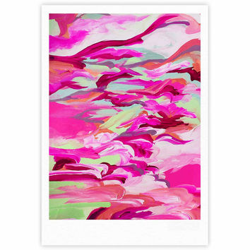 "Ebi Emporium ""Still Up In The Air 3"" Pink Magenta Fine Art Gallery Print"