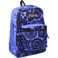 JanSport Super FX Series Purple Sky/Black Freespirit - 6pm.com