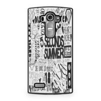 5 Seconds of Summer Songs Collage For LG G4 Case