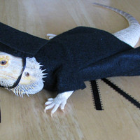 Handmade Cap & Gown for Bearded Dragons with Custom Tassel