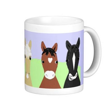 Funny horse posters, Bleached or palomino
