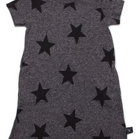 NUNUNU Star Print T-Shirt Dress (Toddler Girls & Little Girls) | Nordstrom
