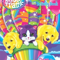 Lisa Frank Jumbo Coloring & Activity Book ~ Best Buds