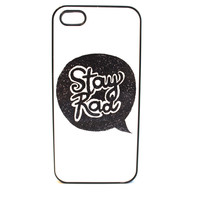 Stay Rad Speech Bubble Phone Case