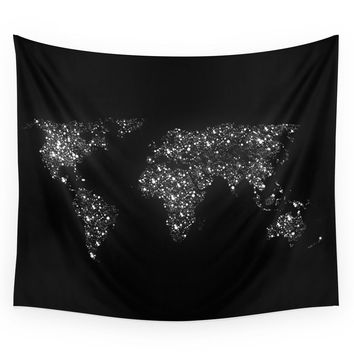 Society6 Tiny Light Spec In The Great Big Universe Wall Tapestry