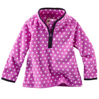 B'gosh Quarter-Zip Fleece Cozie