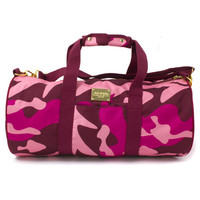 Camo Duffle Bag in Pink –Pink+Dolphin