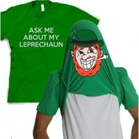 Leprechaun Flip Up Shirt | Saint Patrick's Day Shirts