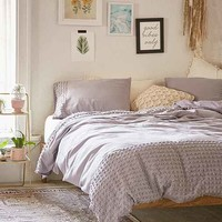 Plum & Bow Tufted Dot Duvet Cover