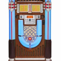 Crosley Bluetooth iJuke Full Size Jukebox | Game Room Guys