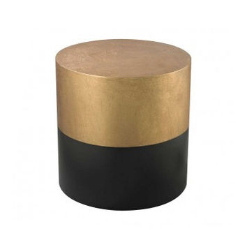 Draper Drum Wood Side Table