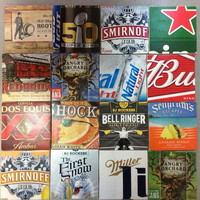 Beer Coasters - Tile Beer Coasters - Man Cave Coasters