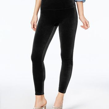 SPANX Women's Velvet Tummy Control Leggings Handbags & Accessories - Macy's