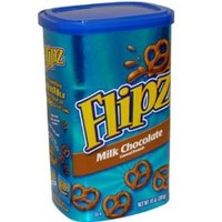 Flipz Milk Chocolate Pretzels, 10-Ounce, 2 count