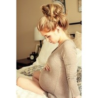 Pregnant and beautiful!