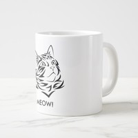 Coffee Cat Giant Coffee Mug
