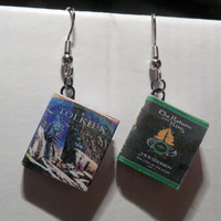 Lord of the Rings Series Miniature Book Pendant by myevilfriend