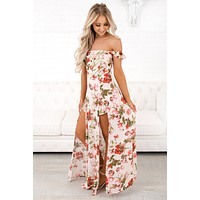 Calm Before The Storm Floral Raxi (Blush)