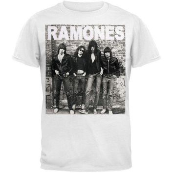 DCCKU3R Ramones - Wall Photo T-Shirt