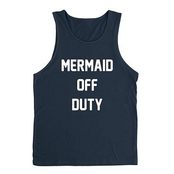 Mermaid off duty, mermaid mom, mermaid hair Tank Top