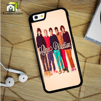 1D One Direction Personel iPhone 6 Plus Case by Avallen