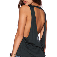 Obey Anabella Tank in Green