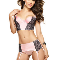 Pretty Baby Bustier Set