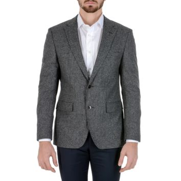 Hugo Boss Mens Jacket Long Sleeves Grey JAYDEN
