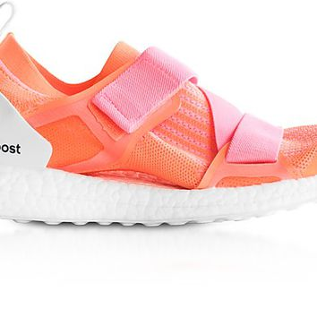 Adidas Stella McCartney Glow Orange and Hyper Pop Ultraboost X Trainers