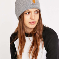 Carhartt Heather Grey Watch Beanie - Urban Outfitters