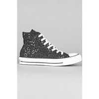 Black High-top Sequin Converse