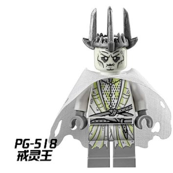 PG518 Witch-king of Angmar The Black Gate Lord of the Dead Ring Wraith Bricks Buiding Blocks Assemble Children Education Toys