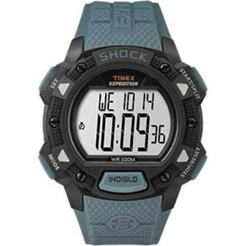 Timex Expedition® Base Shock Resin Strap Watch - Blue