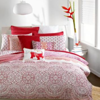 Bar III Henna Full/Queen Duvet Cover | macys.com