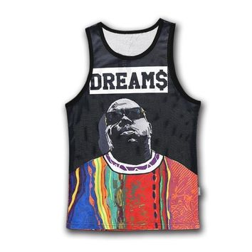 Biggie Dreams Printed Tank Tops