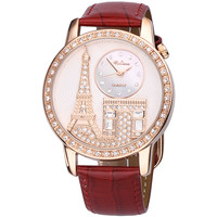 Luxury Eiffel Tower Leather Wrap Watch